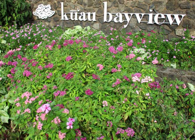Kuau Bayview Front Entrance