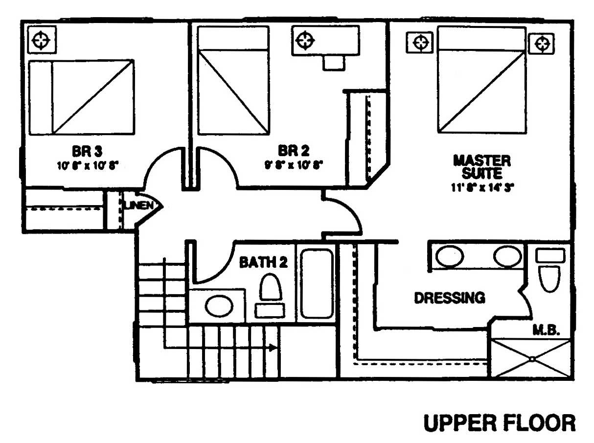 New Ilima Floor Plan 2nd Floor at Kuau Bayview
