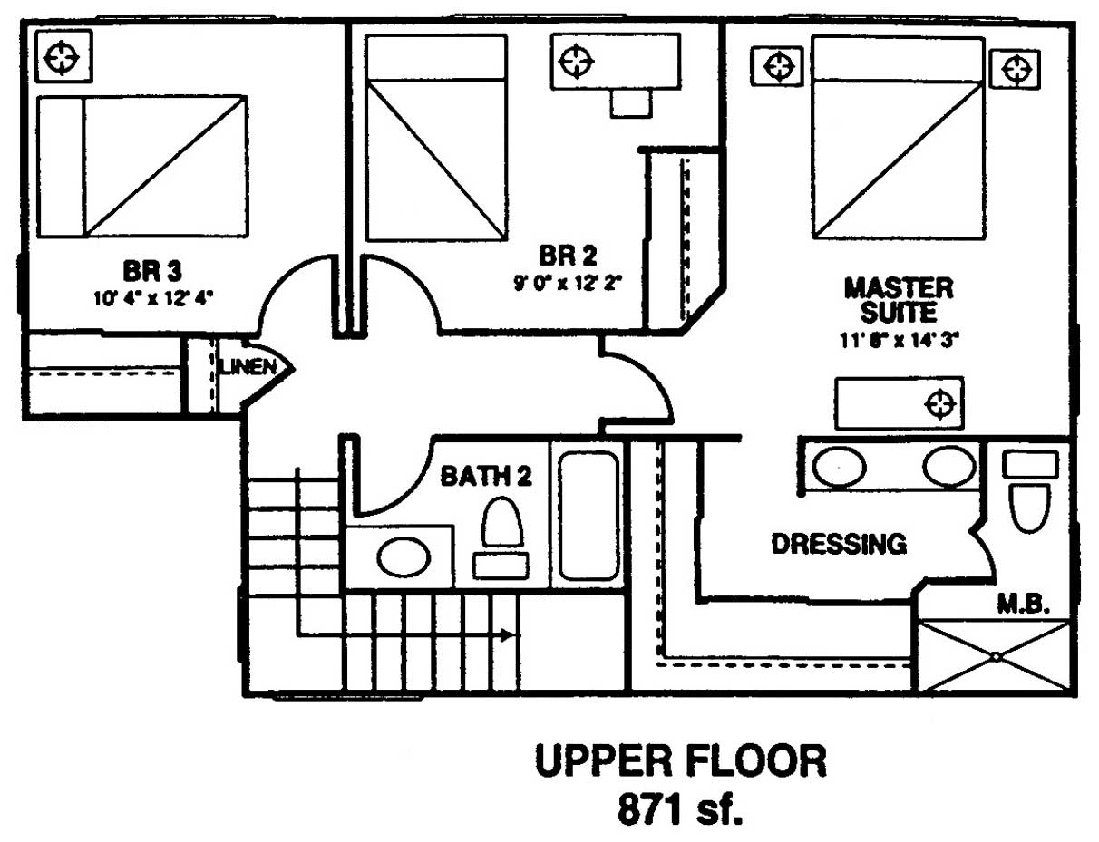 Royal Ilima Floor Plan 2nd Floor at Kuau Bayview